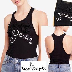 Free People Tops - Black Free People City BERLIN Sleeveless Tank